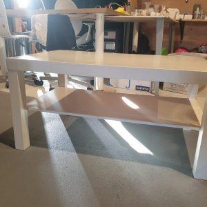 Witte Ikea salontafel